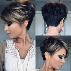 Today we have the most stylish 86 Cute Short Pixie Haircuts. We claim that you have never seen such elegant and eye-catching short hairstyles before. Pixie haircut, of course, offers a lot of options for the hair of the ladies'… Continue Reading → Short Haircuts With Bangs, Short Hairstyles For Thick Hair, Haircut For Thick Hair, Short Hair With Layers, Curly Hair Styles, Easy Hairstyles, Short Womens Hairstyles, Short Hair Cuts For Women Pixie, Hairstyle Short