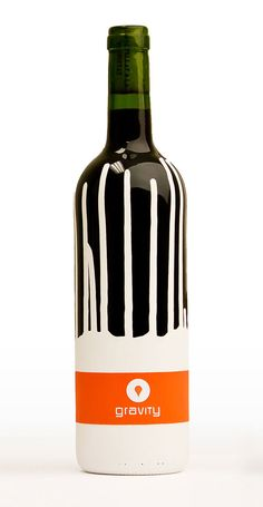 Packaging of the World: Creative Package Design Archive and Gallery: Gravity Wine (Student Work)