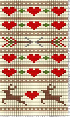 Tricksy Knitter Charts: p6dramuster by Sorel