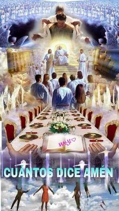 Come to the table. In heaven a table is prepared for us. Jesus Our Savior, Jesus Art, God Jesus, Pictures Of Jesus Christ, Bible Pictures, Jesus Smiling, Heaven Pictures, La Sainte Bible, Bride Of Christ