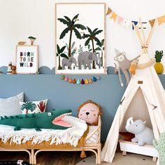 Jungle Nursery, Elephant Nursery, Nursery Room, Nursery Wall Art, Boy Room, Nursery Decor, Kids Room, White Nursery, Nursery Ideas