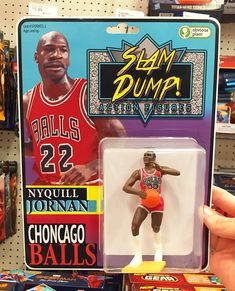 Bootleg Michael Jordan Action Figure