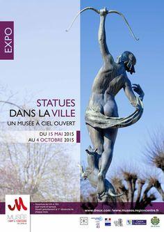 Exposition  Statues dans la Ville Un musée à ciel ouvert Du 15 mai au 4 octobre 2015 Plus d'infos : http://www.dreux.com/agenda/statues-dans-la-ville