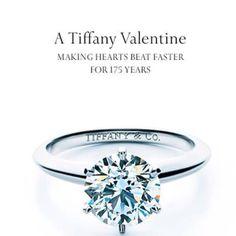 beutiful tiffanys engagement ring - just needs a few more diamonds around the circle #wedding