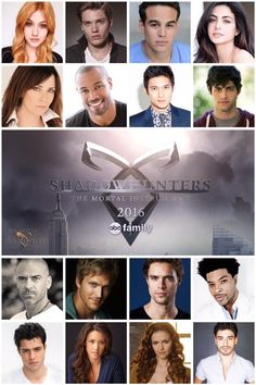 @shadowhunterstv cast!  #Shadowhunters