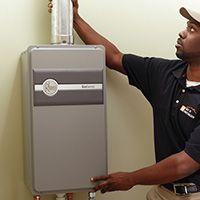 Rheem Energy Star Water Heaters Plumbing The Home Depot Gas Water Heater Tankless Water Heater Tankless