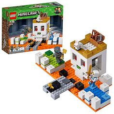 Combine with other sets to create your own unique LEGO Minecraft universe. The LEGO Minecraft The Skull Arena 21145 Minecraft toy can be built together with all other original LEGO sets and LEGO bricks for creative building. Lego Duplo, Lego 4, Lego Ninjago, Lego Toys, Buy Lego, Lego Minecraft, Minecraft Skins, Minecraft Crafts, Minecraft Sword