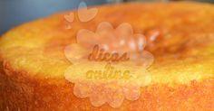 Não Perca!l Delicioso bolo de laranja úmido. Veja como fazer! - # #bolo #bolodelaranja #ovos #receitasobremesa #sobremesa