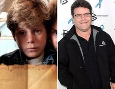 """Where Are They Now? The Goonies - Sean Astin as Michael """"Mikey"""" Walsh - Then and Now from 8Ball.co.uk / www.8ball.co.uk/blog/8ball_film/goonies-now/"""