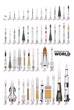 Rockets of the World  #rockets   #space   #exploration