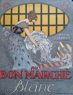 "sydneyflapper:  "" Bon Marché, 1 February 1921  """