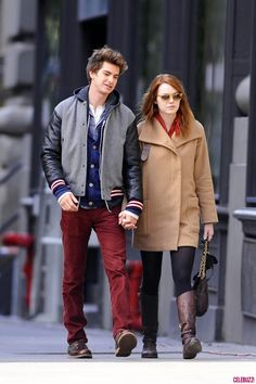 Emma Stone & Andrew Garfield - The Amazing Spiderman