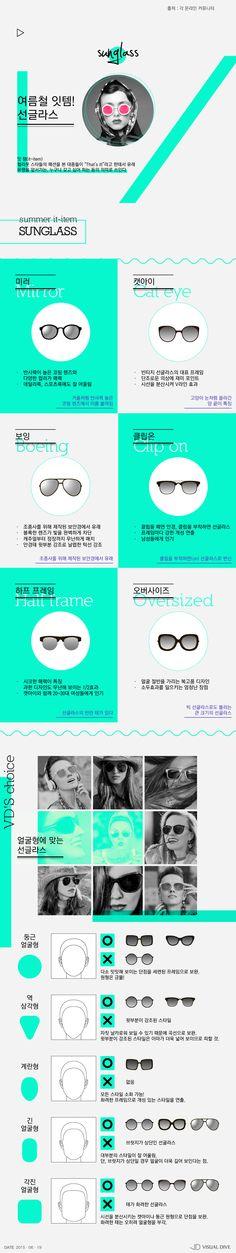 여름철 잇템! 선글라스 [인포그래픽] #Sunglass / #Infographic ⓒ 비주얼다이브 무단 복사·전재·재배포 금지