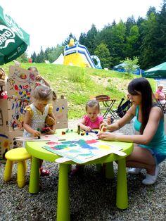 Artystyczne szaleństwo! Rodzinne wakacje w wierchomlańskich klimatach! Góry z dzieckiem na całego! www.wierchomla.com.pl