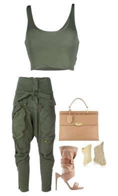 """""""Untitled #295"""" by latiaforest ❤ liked on Polyvore featuring Roque, Faith Connexion, Paul Andrew, Balenciaga and Lynn Ban"""