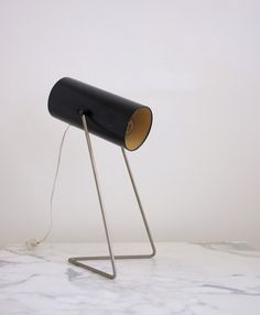 Table lamp designed in 1966/67 by John Brown for Plus Lighting