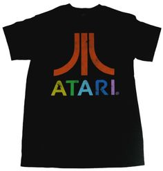 Freeze Atari Old School Retro Multi Color Men's T-Shirt-large Freeze