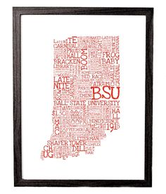 Ball State University Typography--I wannnnnnnt!