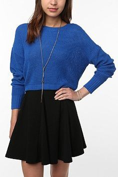 cropped sweater (simple)