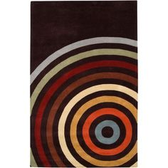 Art of Knot Marengo Hand Tufted Wool Area Rug, 5' x 8', Brown