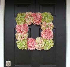 Primavera Hortensia guirnaldaPlaza primavera por ElegantWreath