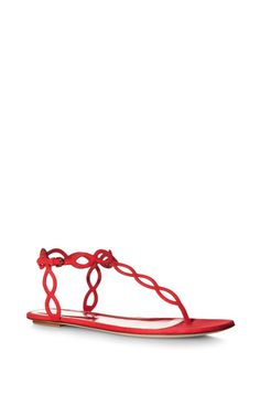 Mermaid Suede Sandals by Sergio Rossi - Moda Operandi
