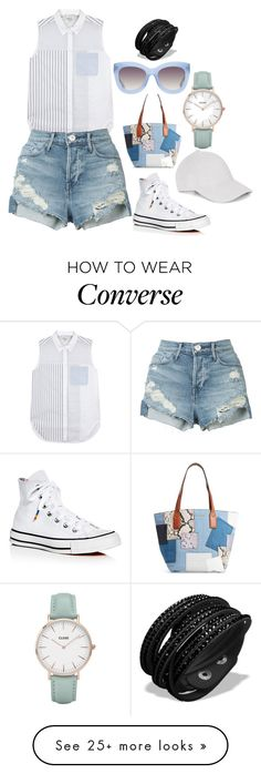 """Bez naslova #110"" by merimadenis on Polyvore featuring 3.1 Phillip Lim, 3x1, Converse, Marc Jacobs, Alice + Olivia, Le Amonie and CLUSE"
