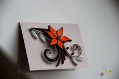 Quilling Small Cards, Such a Cool Idea!