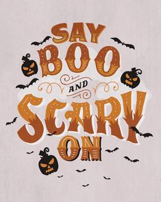 Boo! #mdlhandlettering #halloween Chalk Lettering, Hand Lettering Quotes, Doodle Lettering, Typography, Hand Lettering For Beginners, Hand Lettering Practice, Letter Composition, Pretty Letters, Letter Art
