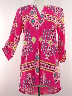 The Bling Box - Plus Size Aztec Colorful Top, $39.99 (http://www.theblingboxonline.com/plus-size-aztec-colorful-top/)