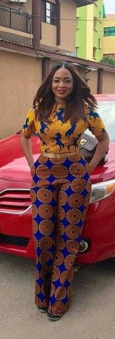 ~African fashion, Ankara, kitenge, African women dresses, just look at that! African Dresses For Women, African Print Dresses, African Fashion Dresses, African Attire, African Wear, African Prints, African Style Clothing, African Outfits, African Clothes