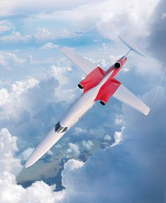 Concorde was retired in 2003 and commercial supersonic flight has remained unobtainable since. Developers of the engine hope the success of the business jet will act as a springboard - launching a commercial supersonic 'renaissance' Space Travel, Air Travel, Executive Jet, Passenger Aircraft, Aircraft Design, Air France, New Engine, Jet Plane, Concorde