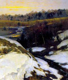 Константин Яковлевич Крыжицкий (1858—1911).Ранняя весна