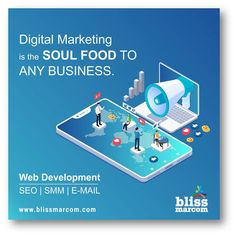 Bliss Marcom is the Best digital marketing agency in noida. We offer a wide range of digital marketing services like Web development, SEO, SMM & PPC Marketing Tactics, Marketing Training, Digital Marketing Strategy, Marketing Strategies, Marketing Plan, Content Marketing, Internet Marketing, Social Media Marketing, Media Magazine