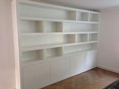 Image result for boekenkast modern hoog wit