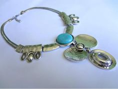 Maxi colar Turquesa GuriaCarioca - R$59.00
