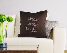 Dekokissen live love laugh