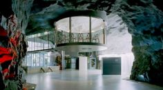 This Underground Data Center In Sweden Looks Like A Real-Life Bond Villain Lair