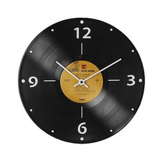 Look what I found at UncommonGoods: Record Clock for $38 #uncommongoods