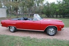 1965 Chevelle SS Convertible