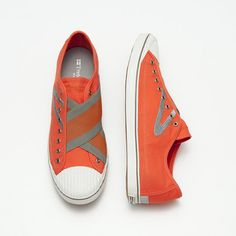 Blog - Chiclectic Orange...tretorns...'nuff said
