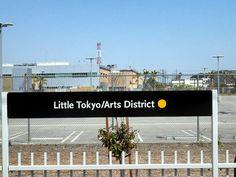 Little Tokyo Gold Line station