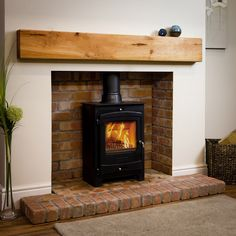 Oak Fireplace Beam Mantel Shelves - OakFireSurrounds.co.uk