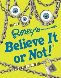 """Ripleý€™s Believe It or Not!℗ʾ Unlock the Weird! 2017 is bursting with 100% ALL NEW facts, features, and photos from around the world́€""all verified to be 100% TRUE! From weird feats to bizarre food, strange animals, and more, this brand-new collection of Ripleý€™s stories and photos includes exclusive features not found anywhere else. Filled with thousands of unbelievably strange oddities to discover, children and adults alike will find a new favorite on every page."" --"