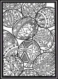 The Diary of a Sower: A freebie: great coloring pages and clip art from Dover Publications Make your world more colorful with free printable coloring pages from italks. Our free coloring pages for adults and kids. Colouring Sheets For Adults, Easter Egg Coloring Pages, Spring Coloring Pages, Dover Coloring Pages, Printable Coloring Pages, Coloring Pages For Kids, Coloring Books, Mandalas Painting, Mandalas Drawing