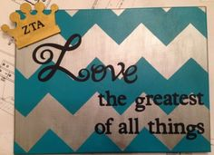 Turquoise and grey canvas