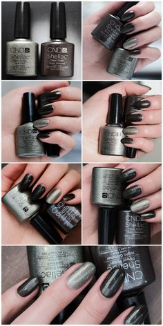 CND Shellac Night Glimmer i Steel Gaze
