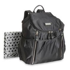 2c0884b095 Bags   Carter s® Slinky Nylon Fashion Backpack Diaper Bag in Black from Buy  Buy Baby