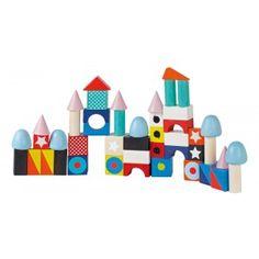 """Конструктор """"Большие разноцветные блоки"""", 50 шт."""