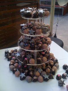 200 cake balls. Engagement party.